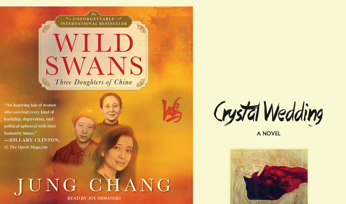 Read more about the article As good as 'Wild Swans'  – 'Crystal Wedding' book review by Ruth Finnegan
