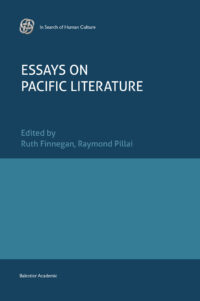 Essays on Pacific Literature